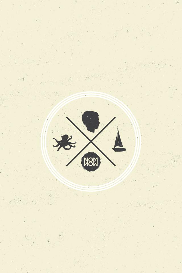 Nom Now Nautical Wallpaper